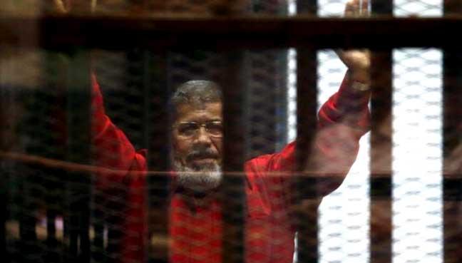 Egyptian court confirms 20-year-prison sentence on Mursi