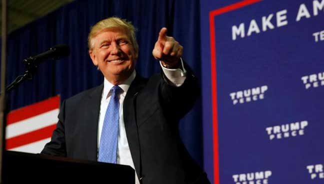 trump gains clinton poll shows rigged message resonates