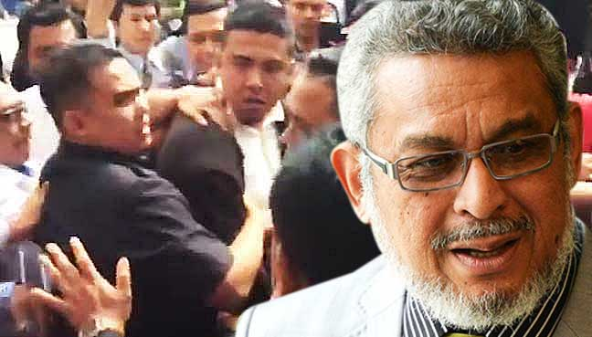 Image result for group attacked khalid samad at Parliament freed