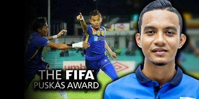 Cara Undi Faiz Subri Tersenarai 10 Calon Anugerah Puskas FIFA 2016