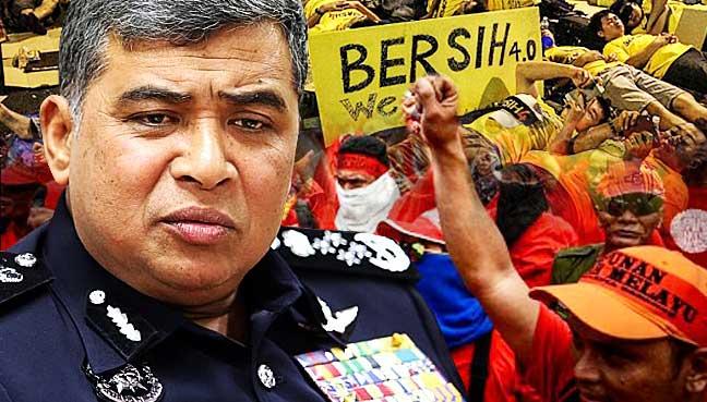 Nation,-police,-Khalid-Abu-Bakar,-Bersih-2.0,-Red-Shirts,-Suhakam