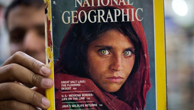 Nat Geos famous Afghan girl to be deported from