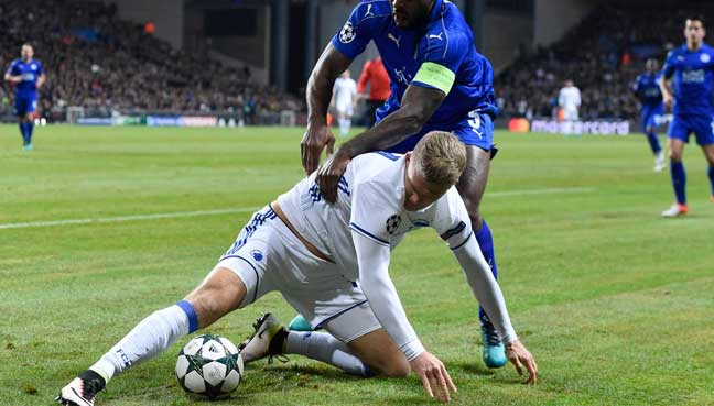 Leicester misses chance to advance early in Champions League