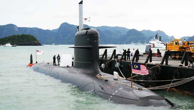 Image result for Malaysia bought  Scorpene submarines