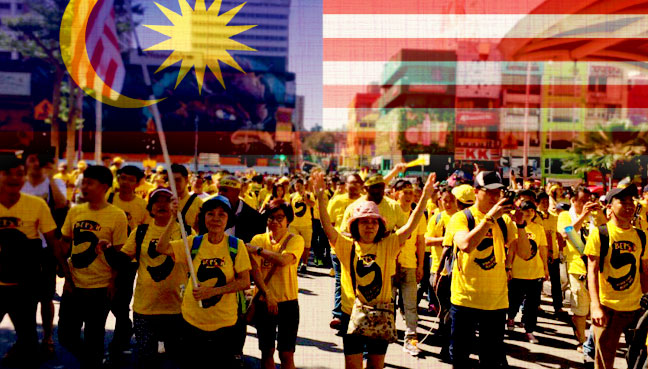 Protesters demand resignation of Malaysia PM