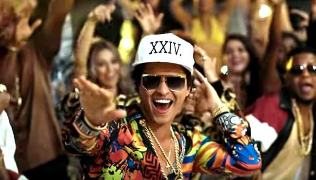 Bruno Mars Drops New Album '24K Magic'