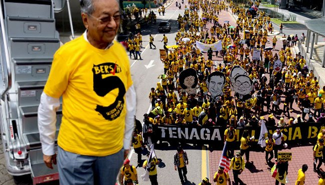 Malaysian police arrest organiser of anti-PM rally