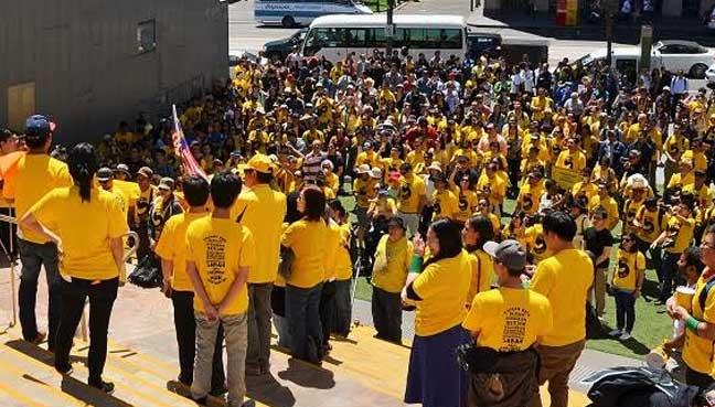 Protesters demand resignation of Malaysia PM