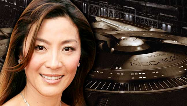 Michelle Yeoh rumored to be cast in Star Trek: Discovery