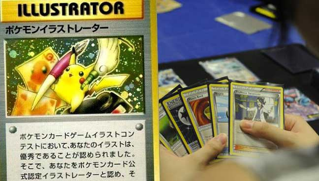 Ultra rare Pokémon card sold for R780 000 at auction