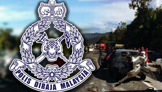 4 cedera kemalangan 16 kenderaan di Tapah
