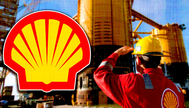 shell refining company Shell today announced plans to build a 488-metre long, 600,000 ton floating gas refinery in a project that will cost $10billion it will be the world's largest floating object.