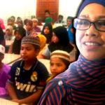 Pengasas pusat kebajikan bagi komuniti Rohingya, Badariah Abdul Hamid