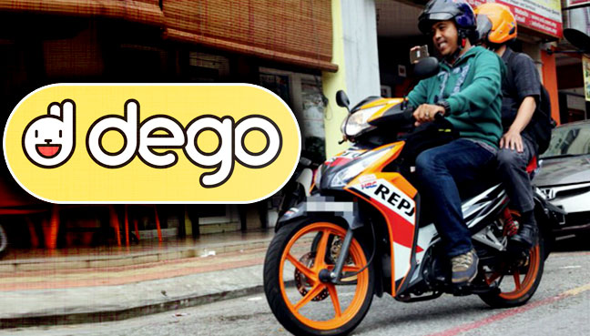 Anda tak mungkin terperangkap lagi dalam kesesakan di KL dengan teksi motosikal Dego Ride ini!