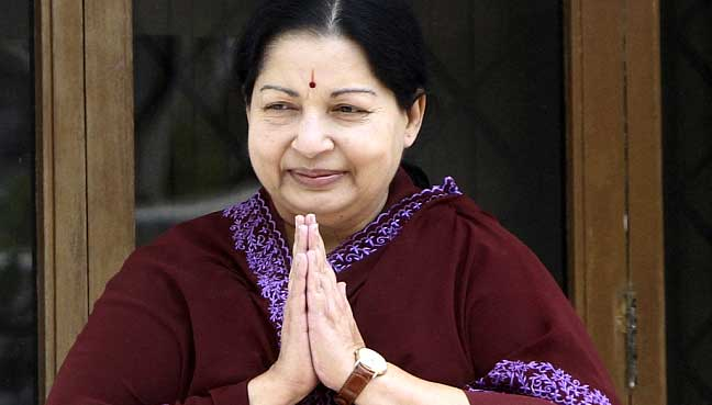 Jayalalithaa just passed away
