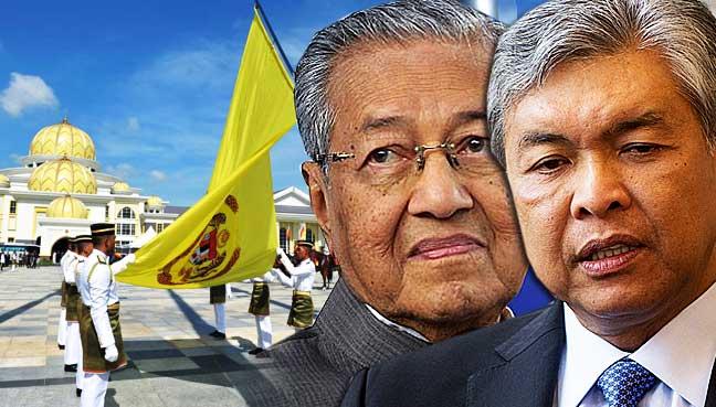 Zahid-Hamidi,-Dr-Mahathir-Mohamad,-Agong,-canceled-palace-invite.