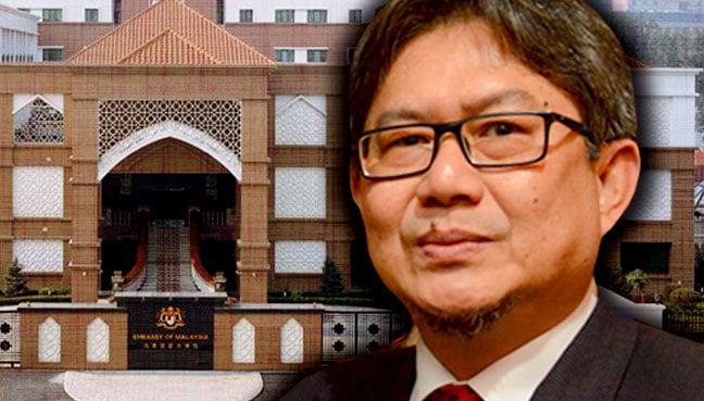 malaysian denied entry to embassy as she had no passport