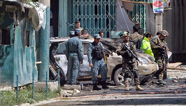 Explosion rocks Kabul city