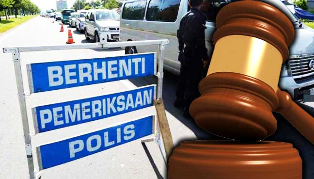 FMT,-KL,-Malaysia,-bite,-cop,-roadblock,-fine,-court,
