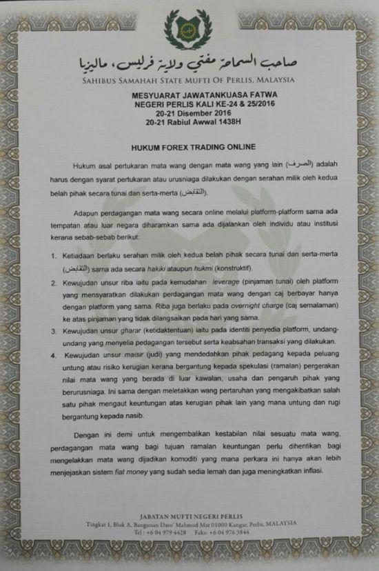 Hukum forex menurut ulama nu