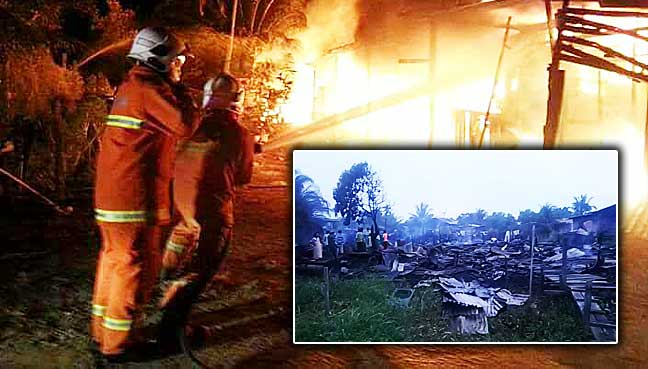 70 homeless in early morning fire