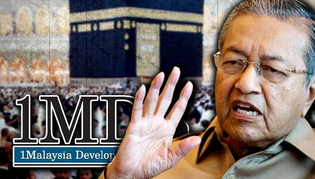 Going on Hajj using 1MDB money is mabrur (not accepted), claims Dr M