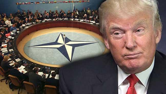 Imagini pentru Nato photos with Trump