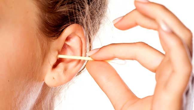 Earwax has health benefits; don't remove it without doctor's advice
