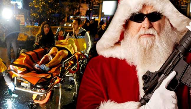 Istanbul diserang lagi, lelaki 'Santa' tembak kelab malam