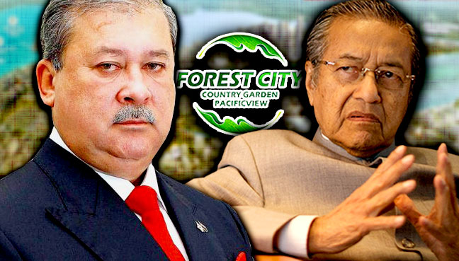 sultan-johor_mahathir_Forest-City_600
