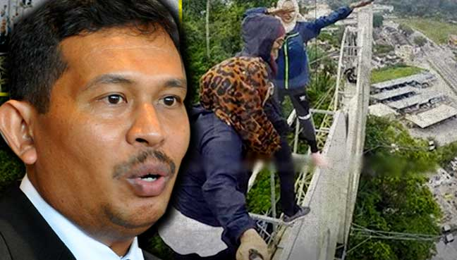 Ipoh city council denies approving signboard climb