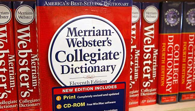 Merriam Webster Words Added Dictionary