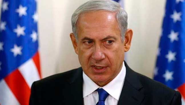 Netanyahu hails US veto of Palestinian as Libya envoy