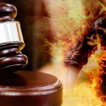 court-fire