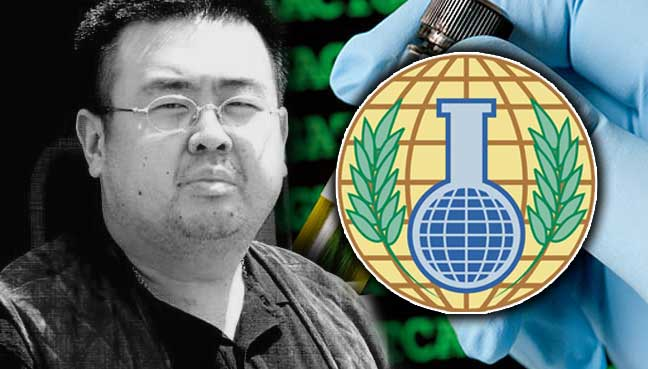 Chemical weapon VX Nerve Agent used to kill Kim Jong-un's half-brother