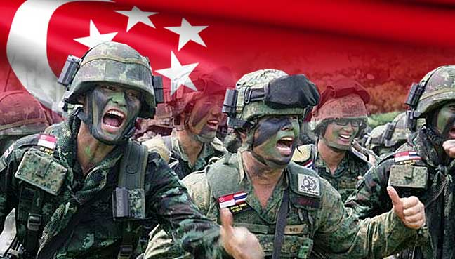 Singapore mandatory army training to stay in troubled world | Free Malaysia Today