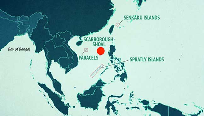 Five facts on asia s disputed scarborough shoal free malaysia