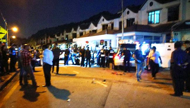Woman shot dead by gunmen in Penang