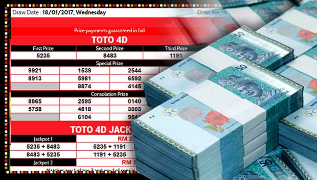 Pensioner wins RM27 4 million Sports Toto 4D Jackpot | Free