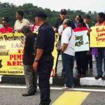 Protest-pekerja