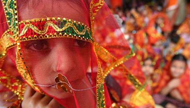 Child marriages drop by 20% in India