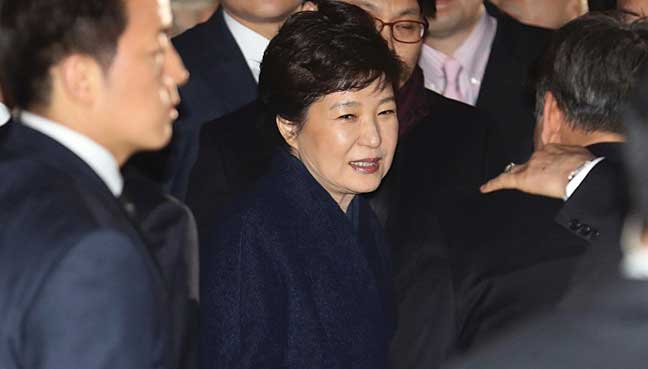 Park Geun-Hye : S.Korea prosecutors to seek arrest of ex-president
