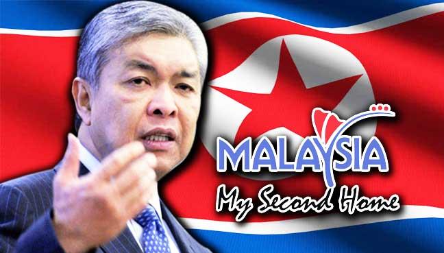 Phó thủ tướng Zahid cho biết Malaysia hiện có 315 công dân Triều Tiên sinh sống theo diện MM2H