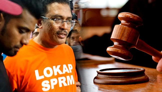 5 Julai Tarikh Sebutan Semula Kes Rasuah Bekas Exco Johor