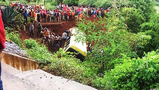 35-killed-in-school-minibus-crash-in-Tanzania