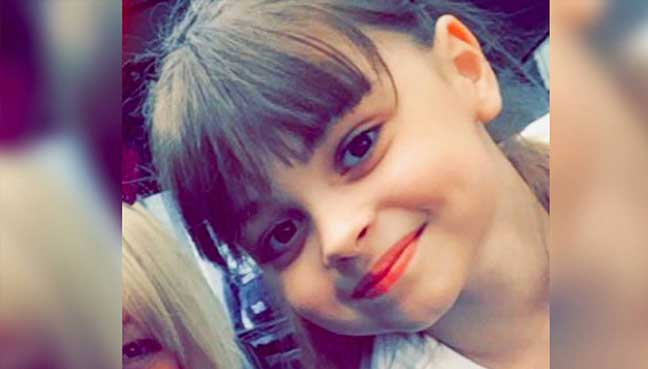 Eight-year-old confirmed as second Manchester terror victim