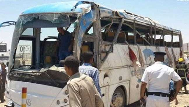 Jihadists behind Egypt convoy attack 'trained in Libya'