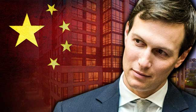 Image result for kushner & chinese business