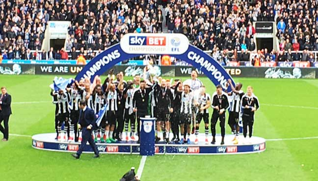 newcastle football today