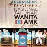 Zuraida-12th-PKR-Wanita-Congress